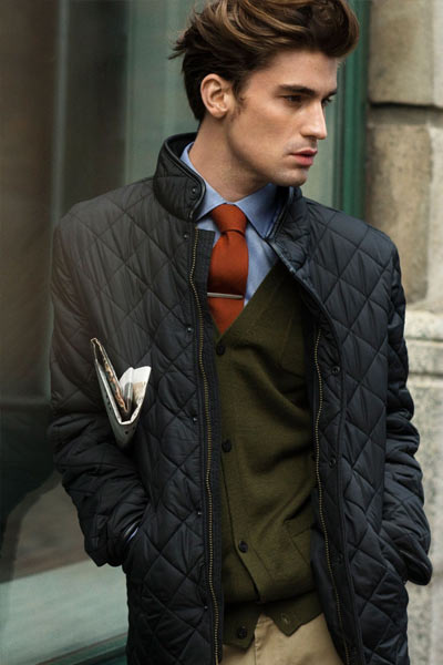 tenue formelle quilted jacket