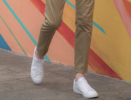 chaussures avec un chino