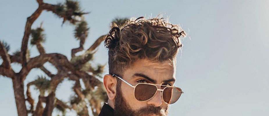 coupe cheveux bouclés homme