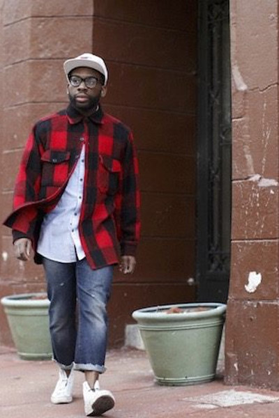 streetwear chemise en flanelle