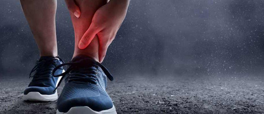 entorses running