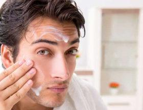 peeling visage homme