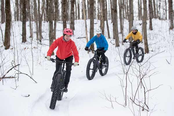 fatbike dans la neige