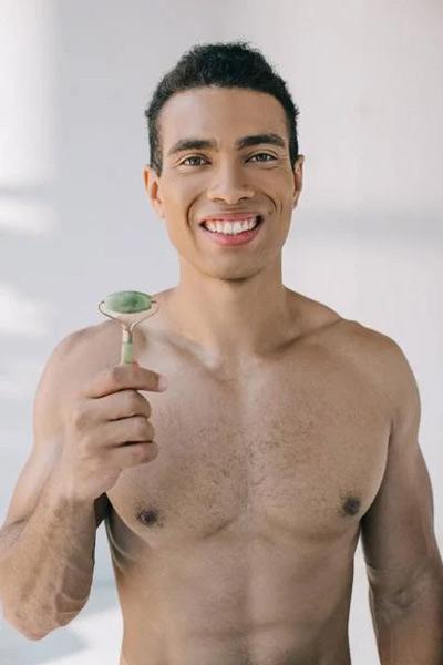 rouleau de jade pour homme
