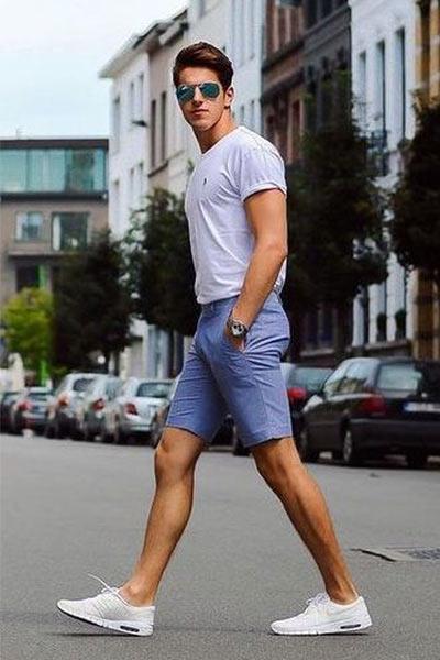 bien porter le short homme