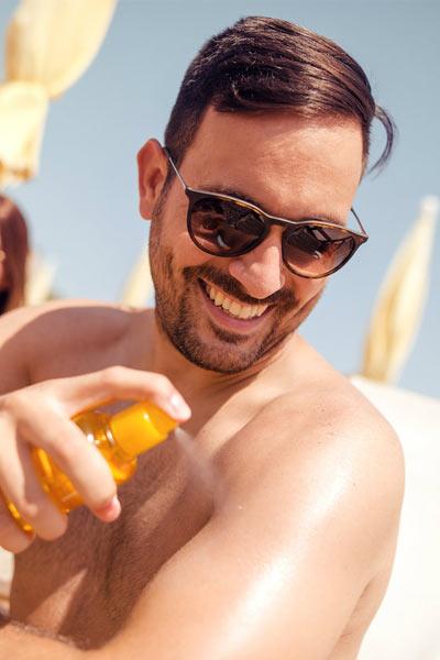 creme solaire prévention peau qui pèle