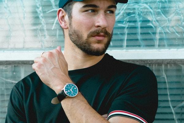poignet montre homme