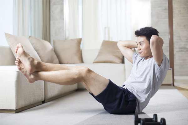 entrainement musculation à la maison