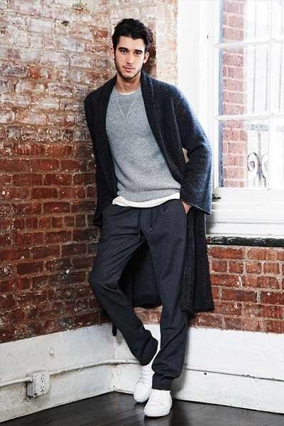 mode homme confort et élégance vêtement de nuit pyjama