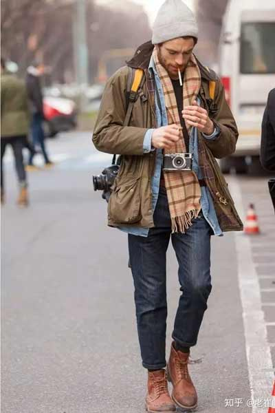 tenue homme bottines brogue
