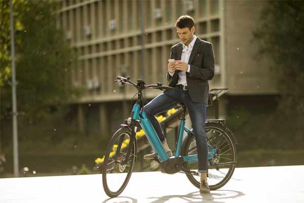 vélo électrique urbain