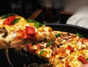 réchauffer une pizza